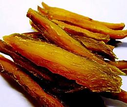 自制健康零食~~地瓜干(红薯干)的做法