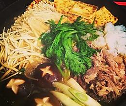 日本关西寿喜烧锅sukiyaki的做法