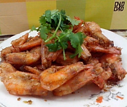 椒盐虾的做法