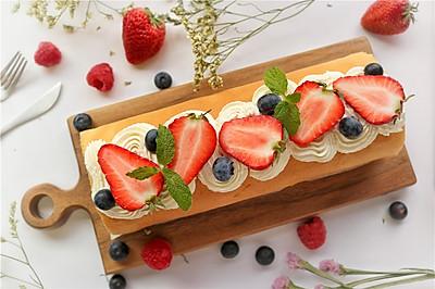 不会裂的草莓蛋糕卷