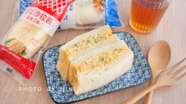 土豆沙拉三明治#丘比三明治#的做法