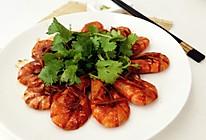 茄汁油焖大虾的做法