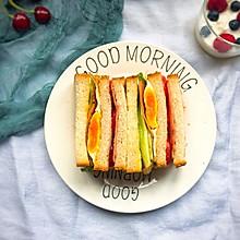 #快手早餐#三明治