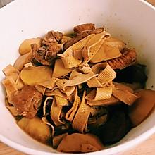 排骨炖干豆腐土豆