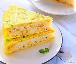 鸡蛋早餐饼 宝宝辅食食谱的做法