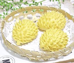 南瓜刺猬馒头的做法
