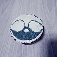小浣熊立体彩绘杯蛋糕的做法图解13