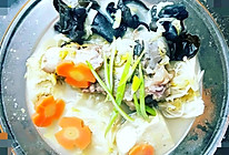 #餐桌上的春日限定#棒子骨炖酸菜的做法