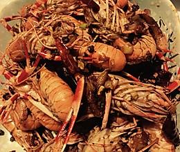 爆炒龙虾的做法