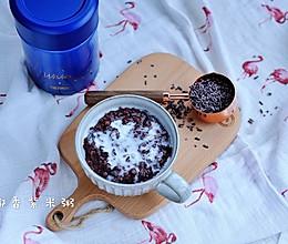 满足你那深秋的胃 | 椰香紫米粥的做法