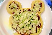 北京烤鸭披萨(迪士尼的中国元素)的做法