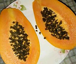 丰胸木瓜制作方法的做法