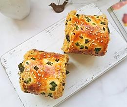 #餐桌上的春日限定#香葱肉松面包的做法