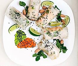 嘎嘣脆的越南风味夏日蔬菜卷的做法