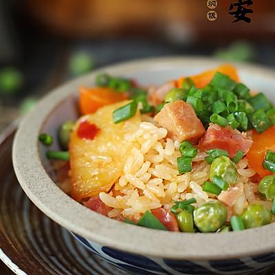 懒人餐—土豆火腿焖饭