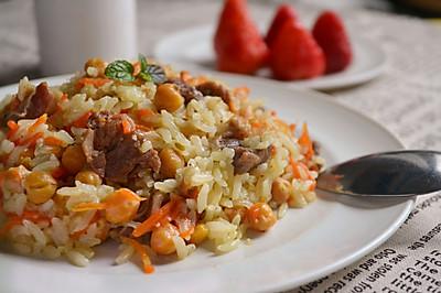 印度香料羊肉饭