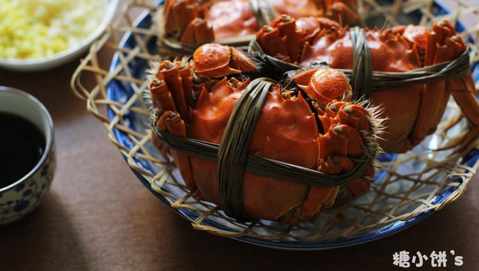 【清蒸大闸蟹】附:螃蟹挑选以及保存法
