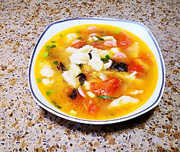 老少皆宜的西红柿鱼鱼疙瘩汤的做法