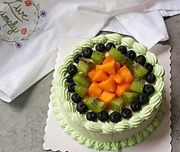 抢手的水果生日蛋糕-6寸的做法