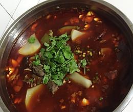 麻辣羊肉火锅的做法