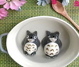 龙猫黑芝麻汤圆的做法
