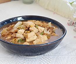 #豆果10周年生日快乐#娃娃菜炖豆腐,一道好吃下饭的家常菜的做法