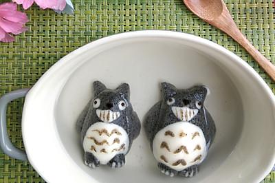 龙猫黑芝麻汤圆