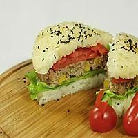 【微体】活力双倍!牛肉米汉堡的做法图解19