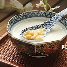 美白润肤的牛奶炖花胶 | 味谷