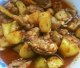 土豆炖鸡块 (香辣)的做法