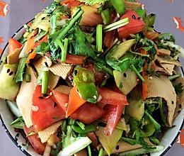 吃不腻的凉菜—拌什锦(附凉拌菜调味技巧)的做法