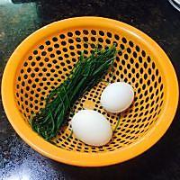 韭菜煎蛋的做法图解1