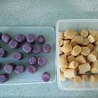 自制手工芋圆(紫薯红薯芋圆)的做法图解4