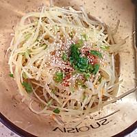 #花10分钟,做一道菜!#凉拌土豆丝的做法图解4