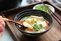 西红柿鸡蛋面片汤的做法
