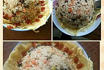 咖喱鸡蛋炒饭的做法