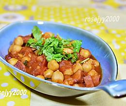 #餐桌上的春日限定#茄汁鹰嘴豆的做法