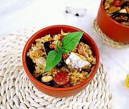 立秋煮一锅喷香的腊味芋头饭吧的做法