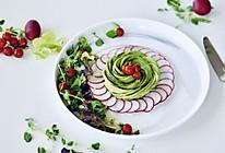 牛油果沙拉#把金牌大厨带回家#的做法