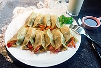 锅贴虾饺的做法