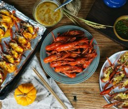 淡水澳龙一个菜谱三种口味的做法