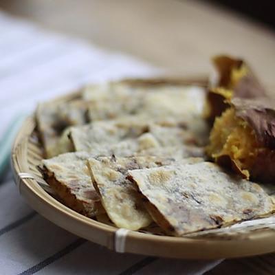 梅干菜肉末薄饼