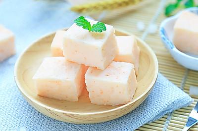 白萝卜虾糕