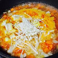 番茄年糕蔬菜汤的做法图解11