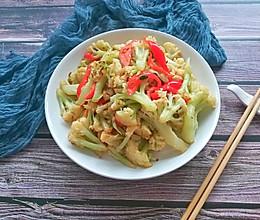 干煸菜花#花10分钟,做一道菜!#的做法