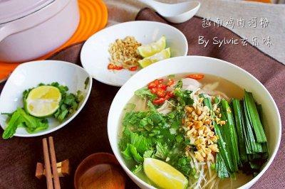 越南鸡肉河粉 Chicken Pho--东南亚的异国香(2)