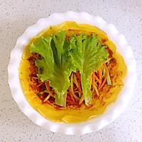 详解蔬菜鸡蛋卷饼的做法图解15