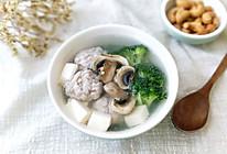 肉丸子口蘑豆腐汤的做法