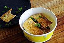 铁板豆腐  街头小吃的做法