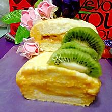 水果蛋糕卷#豆果5周年#